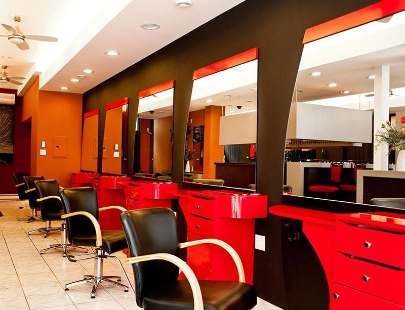 мебель для салонов парикмахерских фото коррекция комплектов
