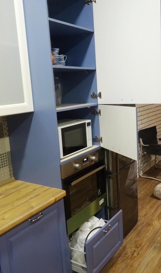 Встроенная кухня-Кухня МДФ в ПВХ «Модель 510»-фото6