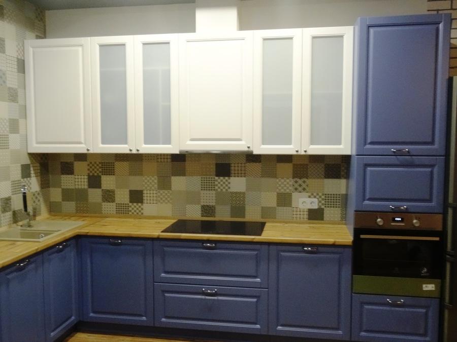Встроенная кухня-Кухня МДФ в ПВХ «Модель 510»-фото3