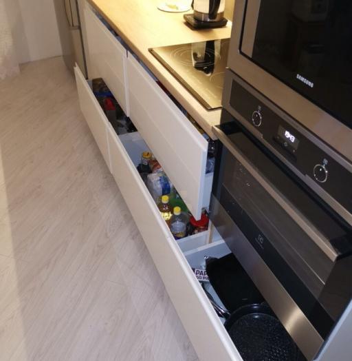-Кухня МДФ в эмали «Модель 144»-фото24