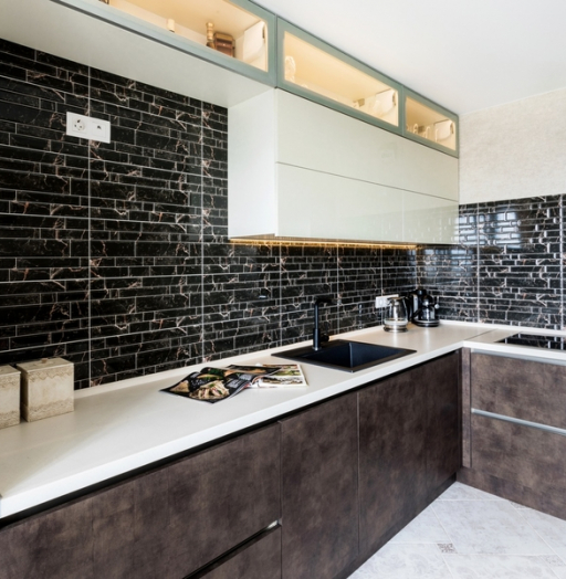 -Кухня из акрила «Модель 412»-фото15