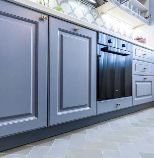 -Кухня МДФ в эмали «Модель 420»-фото28