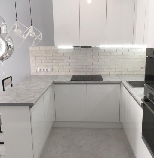-Кухня МДФ в эмали «Модель 431»-фото19