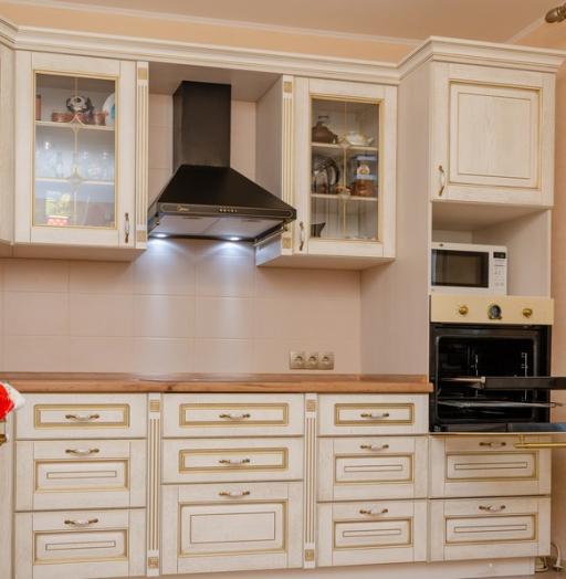 -Кухня из шпона «Модель 4»-фото2