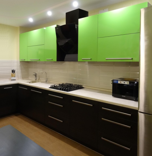 -Кухня из акрила «Модель 288»-фото14