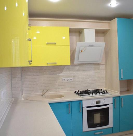 -Кухня МДФ в эмали «Модель 167»-фото19