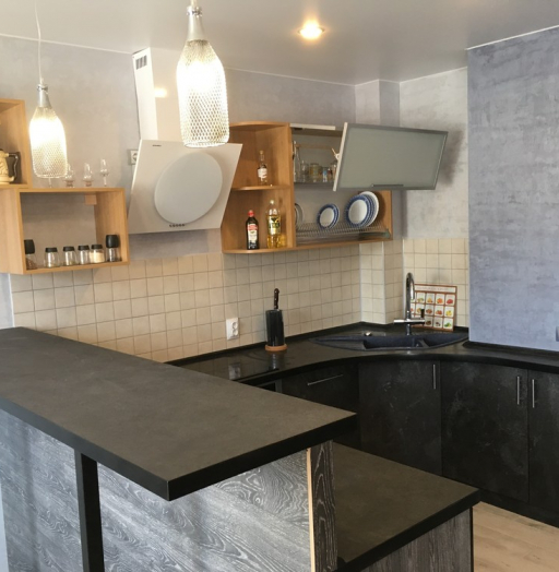 -Кухня МДФ в ПВХ «Модель 316»-фото18