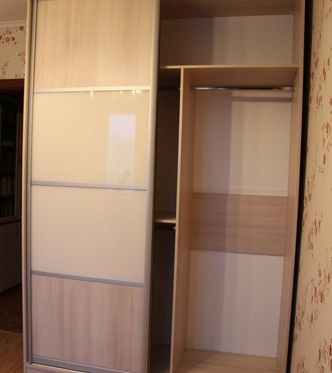 -Шкаф-купе из стекла Лакобель «Модель 21»-фото15